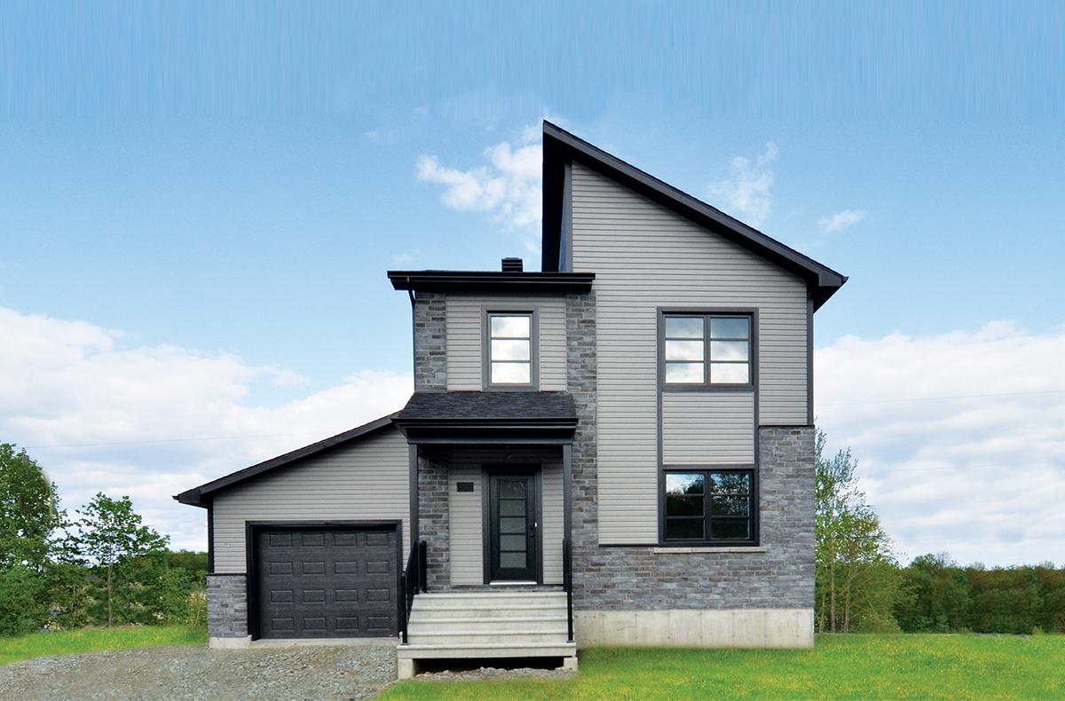 mod les de maisons neuves sherbrooke les constructions t rat r. Black Bedroom Furniture Sets. Home Design Ideas