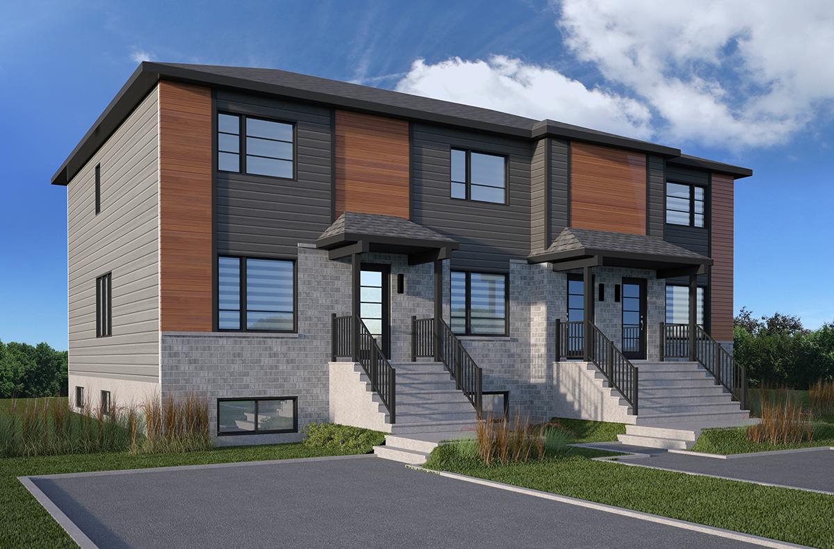 Maison de ville contemporaine - Modèle Trinité